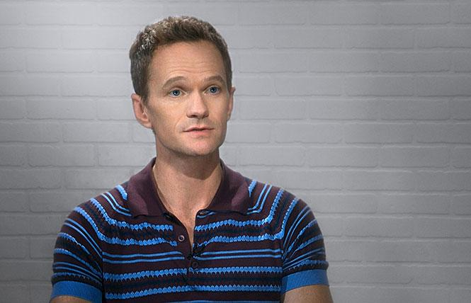 """Gay TV star Neil Patrick Harris, interviewed in """"Visible: Out on Television"""" on Apple TV+. Photo: Tripod Media"""