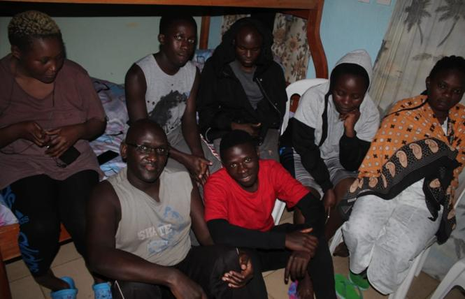 Some of the LGBT refugees living at the Team No Sleep safe house in Nairobi, Kenya. Photo: Courtesy Team No Sleep Foundation