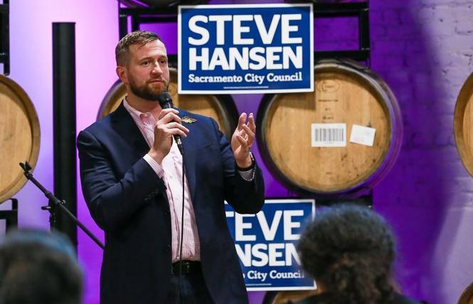 Sacramento City Councilman Steve Hansen conceded Tuesday in his race for a third term. Photo: Courtesy Hansen campaign