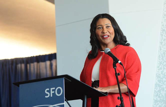 San Francisco Mayor London Breed. Photo: Rick Gerharter