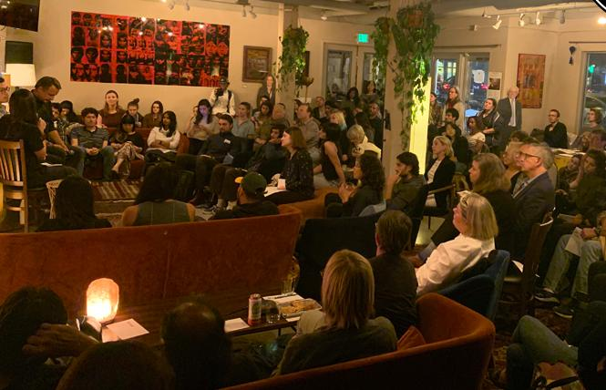 In pre-COVID-19 days, Manny's usually has a full house for its events. Photo: Courtesy Manny Yekutiel