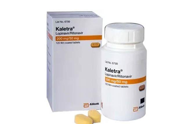 A new study suggested the HIV drug Kaletra is not that effective against the new coronavirus.