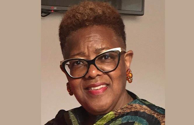 Brendalynn Goodall, a former president of the East Bay Stonewall Democratic Club, won a seat on the Alameda County Democratic Central Committee. Photo: Courtesy Facebook