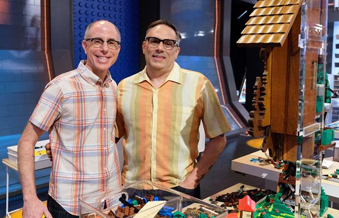 "Oakland couple Richard Board and Flynn DeMarco's shared love for Legos landed them a spot on the Fox TV competition show ""Lego Masters."" Photo: Courtesy Fox."