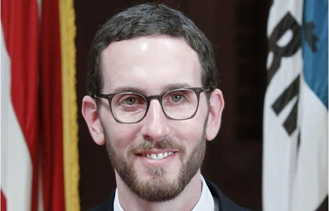 State Senator Scott Wiener has become the latest in a string of out elected officials to call for the Federal Food and Drug Administration to end its ban on gay men donating blood. Photo: Courtesy Senator Wiener's office