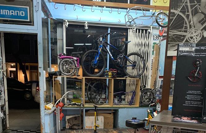 Freewheel Bike Shop is an upset winner in the best bike shop category. Photo: Courtesy Freewheel Bike Shop