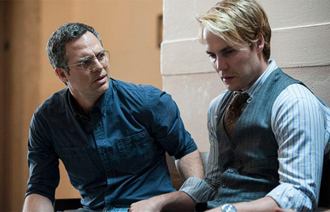 Ned Weeks (Mark Ruffalo) and Bruce Niles (Taylor Kitsch) in 'The Normal Heart.'