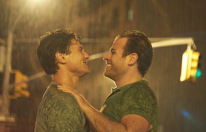 Augustus Prew and Scott Evans in 'Almost Love.'