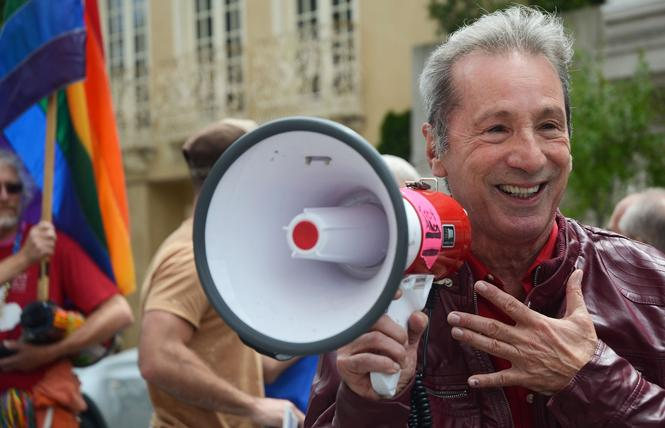 Then-Assemblyman Tom Ammiano spoke at a rally in 2013. Photo: Rick Gerharter