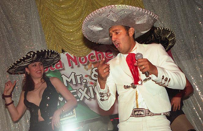 Mariachi performances were part of the entertainment offerings at Esta Noche, shown in this undated photo. Photo: Rick Gerharter
