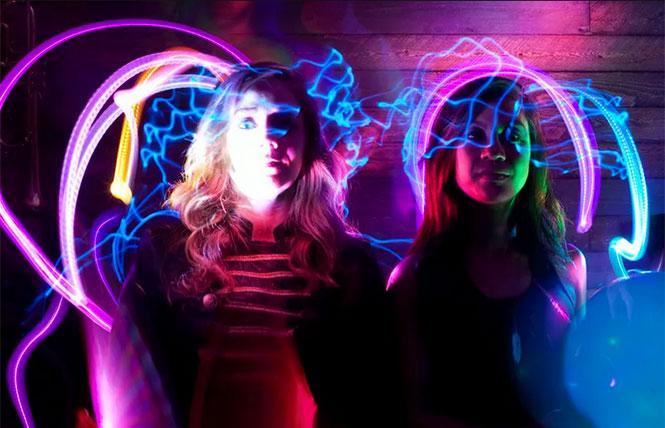 Desereé Fawn Zimmerman and Kristin Sanchez are Dance Loud.