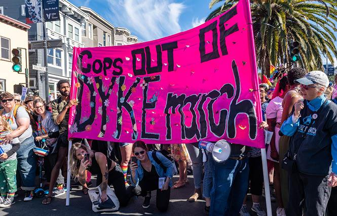 People took part in the 2019 San Francisco Dyke March. Photo: Jane Philomen Cleland
