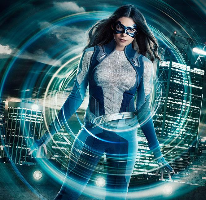 Nicole Maines stars as Nia Nal/Dreamer, television's first transgender superhero, in The CW's 'Supergirl.' Photo: Dean Buscher/The CW