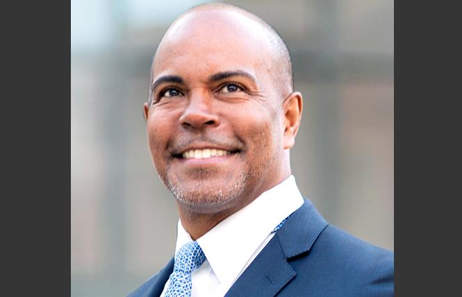 Derreck Johnson announced Tuesday that he is seeking the at-large seat on the Oakland City Council. Photo: Courtesy Johnson campaign
