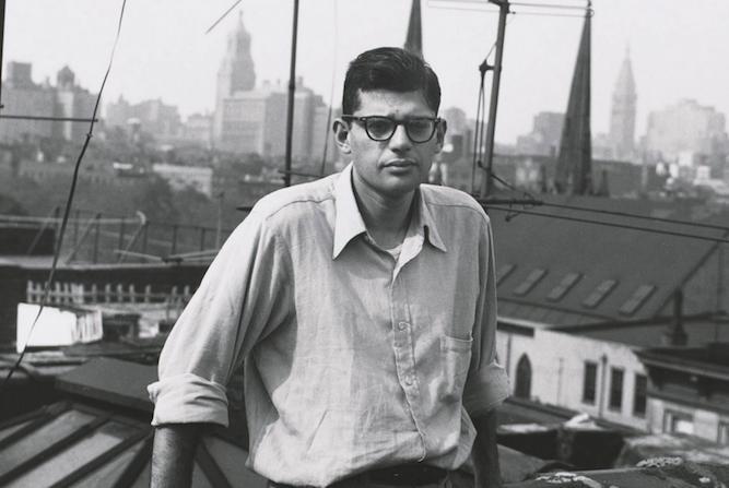 Allen Ginsberg in 1953. photo: William Burroughs