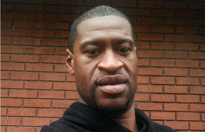 The death of George Floyd in the custody of Minneapolis police May 25 has sparked outrage across the country. Photo: Courtesy Law Offices of Ben Crump Law