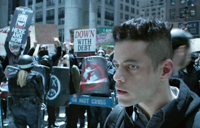 The prophetic 'Mr Robot.'