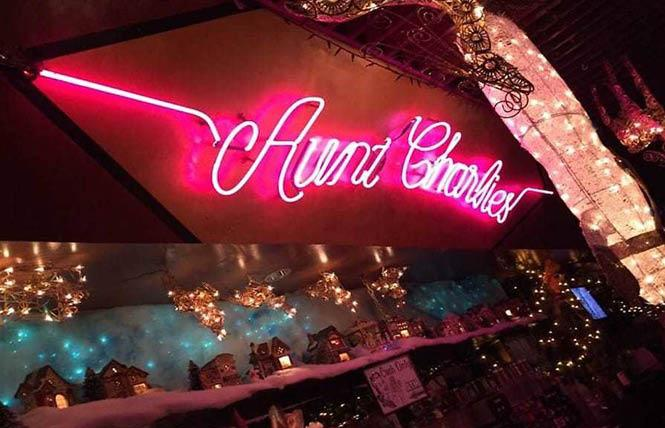 A crowdfunding campaign has been established to aid Aunt Charlie's Lounge, an LGBT bar in the Tenderloin. Photo: Courtesy Yelp