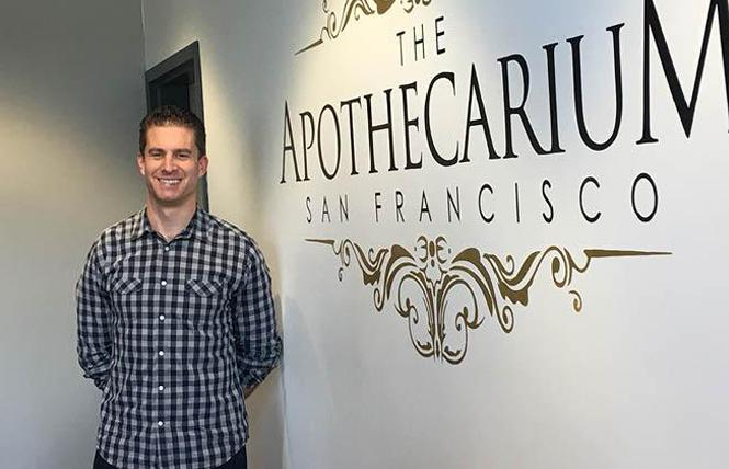 Apothecarium CEO Ryan Hudson. Photo: Sari Staver
