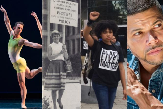 Smuin Ballet, A Queer Serial podcasts, Black Lives Matter, Wilson Cruz reads with Lambda Literary.