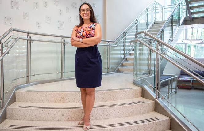 Researcher and associate professor Karina Gattamorta is planning a study to determine family acceptance strategies for Hispanic and Latino LGBTQ youth. Photo: Courtesy University of Miami