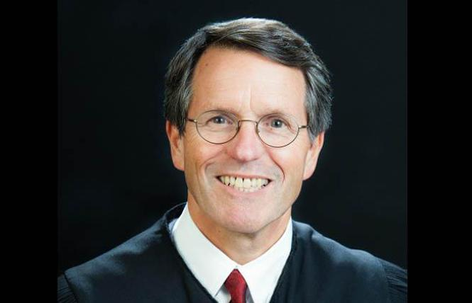 Federal Judge William H. Orrick will hear a motion on the Prop 8 tapes June 17. Photo: Courtesy Wikipedia