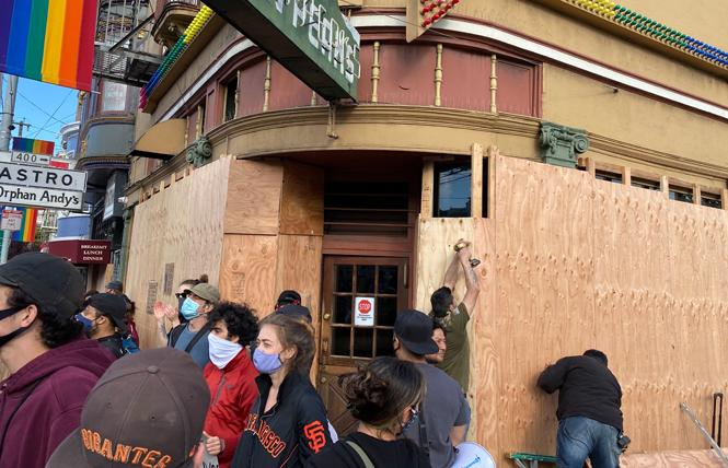 Twin Peaks in the Castro has been shuttered, along with other bars, since shelter-in-place orders went into effect due to the novel coronavirus outbreak. Photo: John Ferrannini