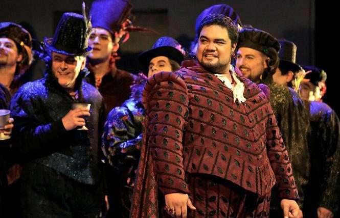 "Tenor Pene Pati as the Duke of Mantua in San Francisco Opera's ""Rigoletto"" Photo: Cory Weaver/San Francisco Opera"