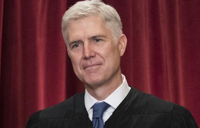 Supreme Court Justice Neil Gorsuch. Photo: Courtesy AP