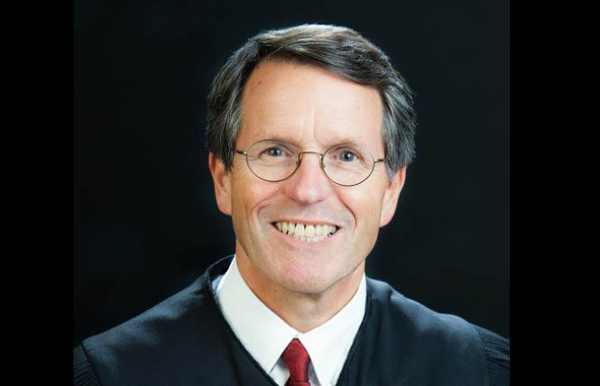 Federal Judge William H. Orrick held a virtual hearing Wednesday on the issue of unsealing tapes from the Prop 8 trial. Photo: Courtesy Wikipedia