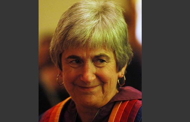 The Reverend Dr. Jane Spahr. Photo: Rick Gerharter