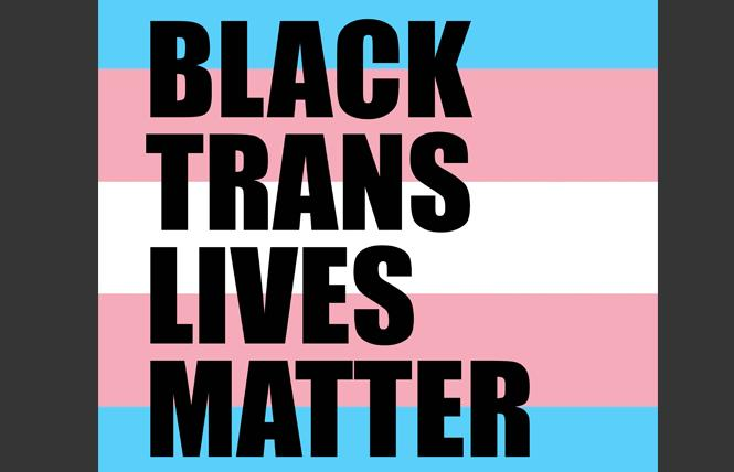 The author urges support for Black trans-led organizations.