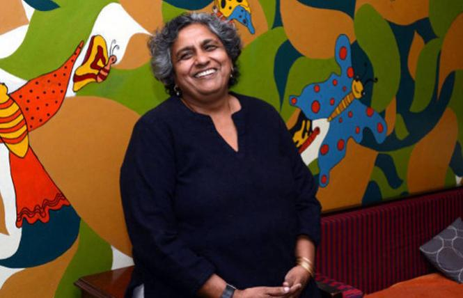 Anjali Gopalan is the founder and executive director of the Naz Foundation (India) Trust. Photo: V. Sudershan/The Hindu