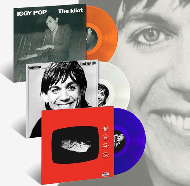 Q-Music: Iggy Pop's 'Lust For Life,' 'The Idiot' re-released