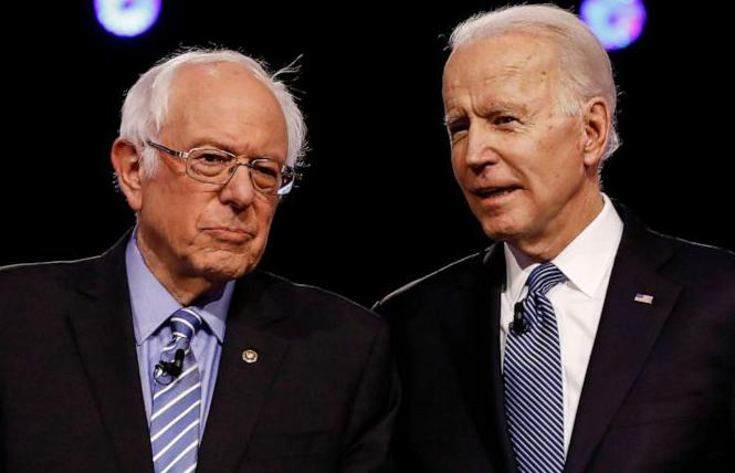 Vermont Senator Bernie Sanders, left, and presumptive Democratic presidential nominee Joseph R. Biden Jr. formed task forces to put together unity platform recommendations ahead of the party's convention. Photo: Courtesy ABC News