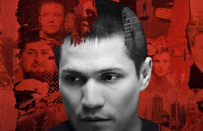 Maxim Lapunov in 'Welcome to Chechnya'