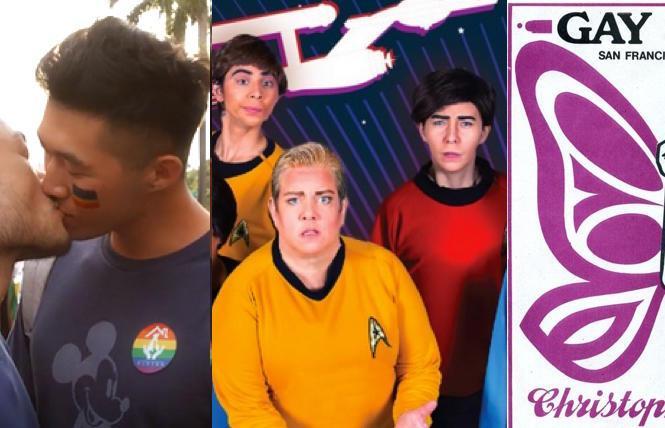 Queer East Filmfest, 'Star Trek Live,' GLBT Historical Society talks