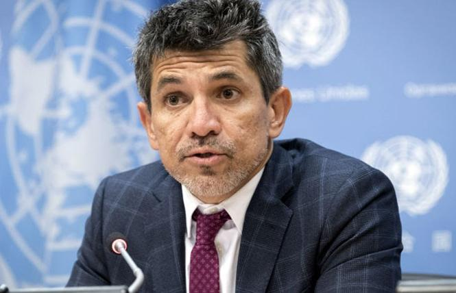 Victor-Madrigal-Borloz is the independent LGBTQ expert at the United Nations. Photo: Courtesy Mark Garten/U.N.