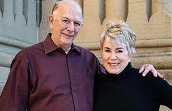 Co-authors Rick Kaplowitz and his wife, Geri Spieler. Photo: Teri Vershel