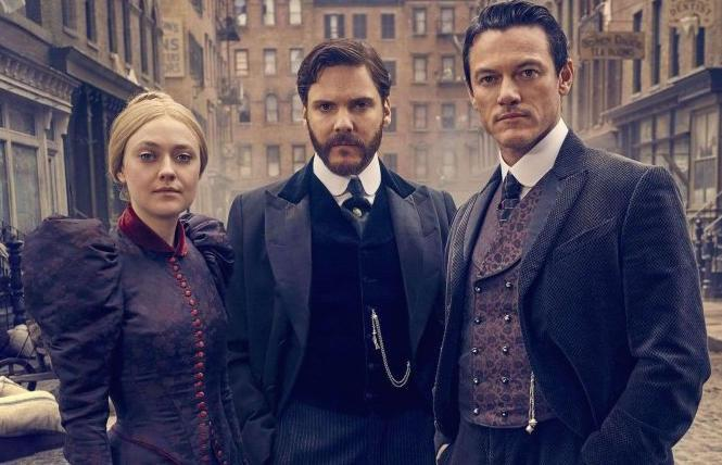 Dakota Fanning, Daniel Brühl and Luke Evans in Season 2 of 'The Alienist'