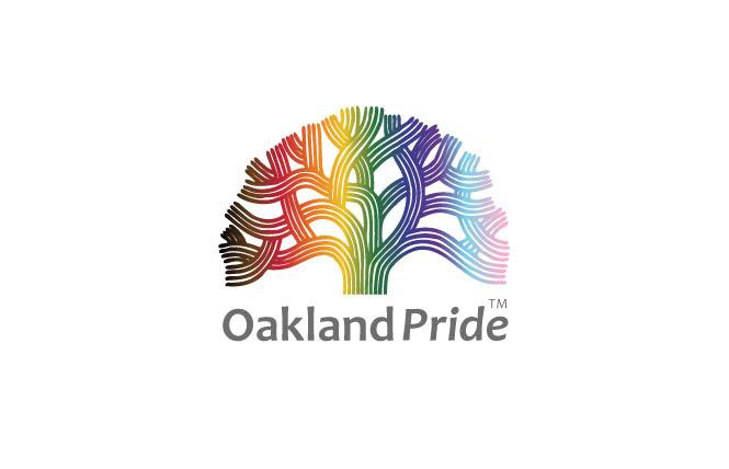 Oakland Pride unveiled its new logo Sunday, August 2. Photo: Courtesy Oakland Pride