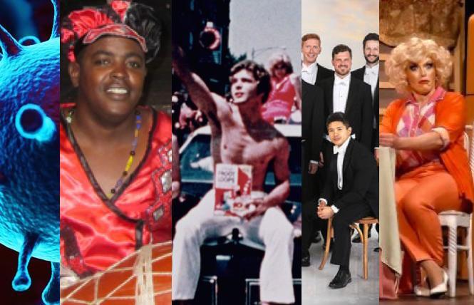 Cal Academy talks, Cuba Caribe, 'Gay USA,' Chanticleer, 'Golden Girls Live'