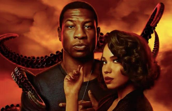Jonathan Majors and Jurnee Smollett in 'Lovecraft Country'