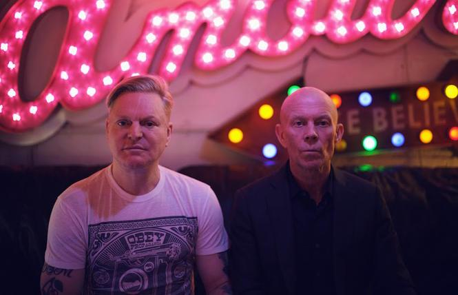 Andy Bell and Vince Clark are Erasure. photo: Phil Sharp