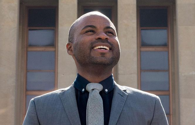 Geramye Teeter is running for a seat on the City College of San Francisco board. Photo: Courtesy Facebook