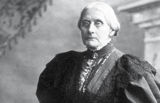 President Donald Trump announced Tuesday that he was granting a posthumous pardon to Susan B. Anthony, who played a pivotal role in the women's suffrage movement. Photo: Courtesy Britannica