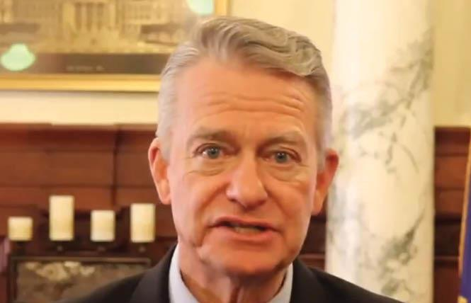 Idaho Governor Brad Little signed a pair of anti-LGBTQ bills into law that have resulted in injunctions by federal judges.