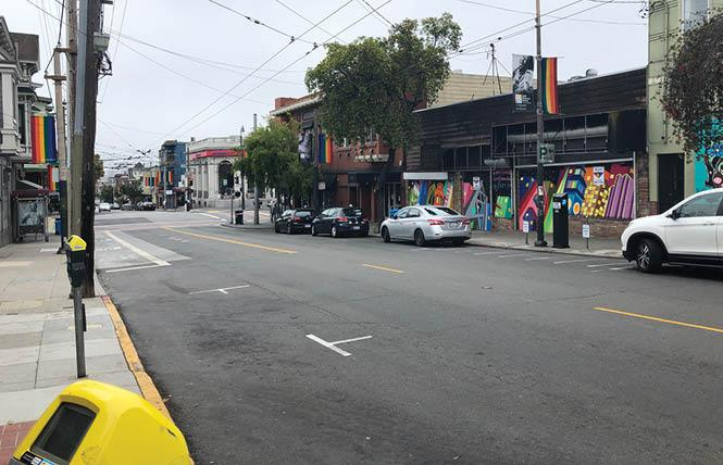 Two blocks of 18th Street in the Castro will be allowed to close on Sunday afternoon and evenings to allow for outdoor dining. Photo: Matthew S. Bajko