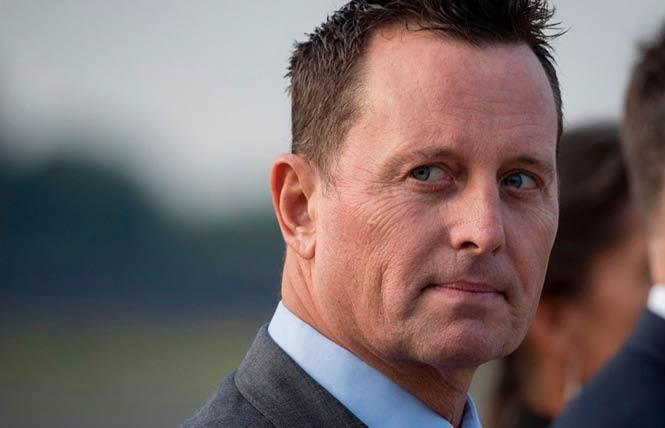 Richard Grenell, President Donald Trump's former ambassador to Germany, is expected to speak at the Republican convention Wednesday. Photo: Courtesy CNN