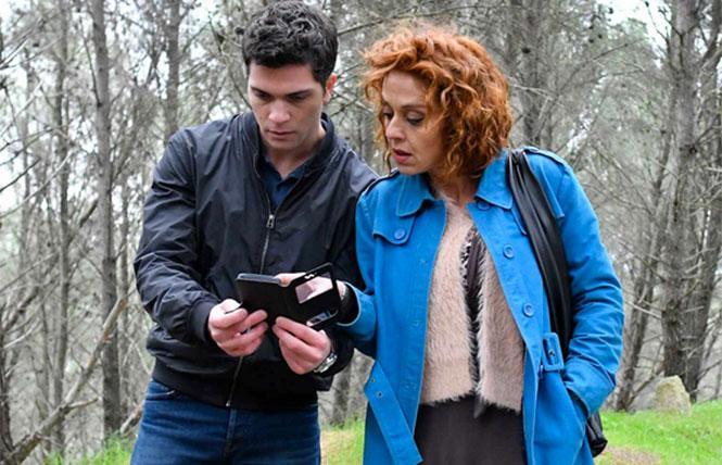 Alessio Lapice and Vanessa Scalera in 'Imma Tataranni'